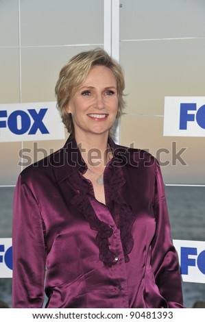 """Glee"" star Jane Lynch at the Fox TV Summer 2011 All-Star Party at Gladstones Restaurant, Malibu. August 5, 2011  Malibu, CA Picture: Paul Smith / Featureflash - stock photo"