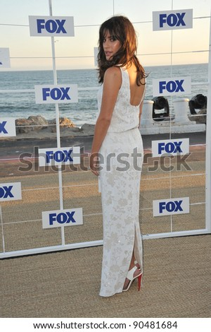 """Glee"" star Lea Michele at the Fox TV Summer 2011 All-Star Party at Gladstones Restaurant, Malibu. August 5, 2011  Malibu, CA Picture: Paul Smith / Featureflash - stock photo"