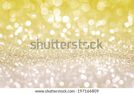 Glitter Bokeh abstract background, Diamond light for deluxe design - stock photo