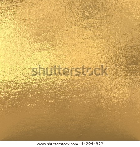 Gold metallic foil