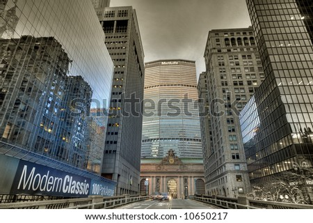 Grand Central - Manhattan - New York - stock photo
