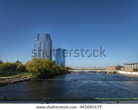Grand Rapids, MI           - stock photo