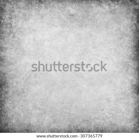 Gray background. Grungy old paper - stock photo