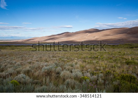?Great Sand Dunes National Park, Summer 2015 - stock photo