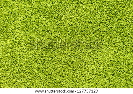 Green carpet texture - stock photo