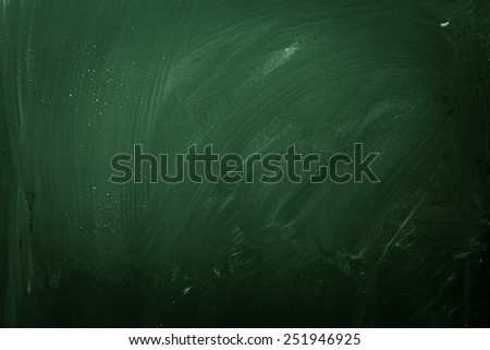 green school board - stock photo
