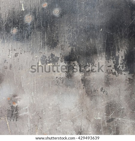 grunge wall background with black and gray plaster