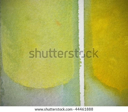 grunge yellow         abstract watercolor background