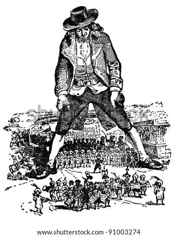 gullivers travels major themes handout Lilliput and blefuscu – england and france the big-endians and the little-endians – the protestants and the catholics the tramecksans and the slamecksans (the high heels and the low heels) – the tories and the whigs.