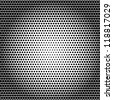 halftone dots background - stock vector