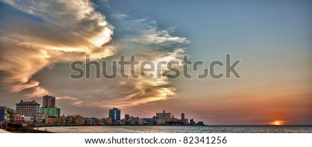 Havana,Cuba - stock photo
