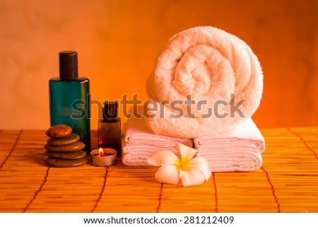 Health care by spa treatment. - stock photo