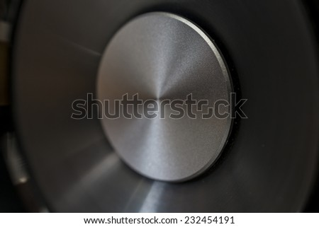 hi-fi music audio speaker membreane - stock photo