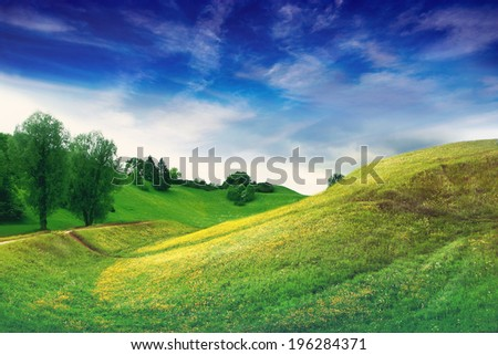 Hills and Countryside