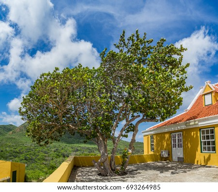 Historic Landhouse    Views around the Caribbean Island of Curacao in the Netherland Antilles