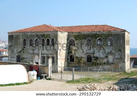 (Historical Sinop Prison). Sinop,TURKEY - stock photo