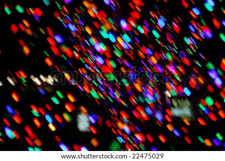 Holiday LED Lights - stock photo