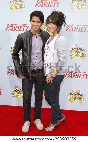 05/12/2009 - Hollywood - Booboo Stewart at the Variety's 3rd Annual Power of Youth Event held at the Paramount Pictures Studios in Hollywood, California, United States.  - stock photo