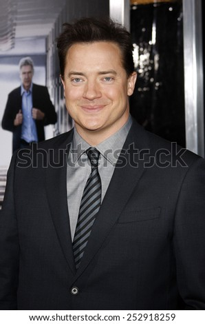 "19/1/2010 - Hollywood - Brendan Fraser at the Los Angeles Premiere of ""Extraordinary Measures"" held at the Grauman's Chinese Theater in Hollywood, California, United States."