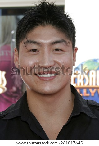 "06/04/2006 - Hollywood - Brian Tee attends the Los Angeles Premiere of ""The Fast and the Furious: Tokyo Drift"" held at the Universal Studios in Hollywood, California, United States.  - stock photo"