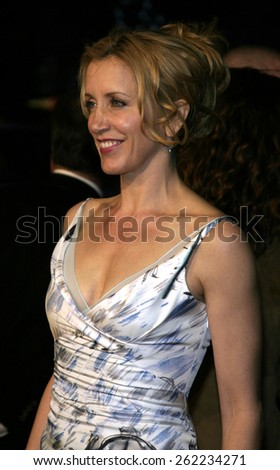 "04/04/2005 - Hollywood - Felicity Huffman at the ""Sahara"" Premiere at the Grauman's Chinese Theater. - stock photo"
