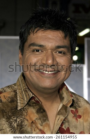 """03/01/2005 - Hollywood - George Lopez at """"The Pacifier"""" Los Angeles Premiere at the El Capitan Theater. - stock photo"""
