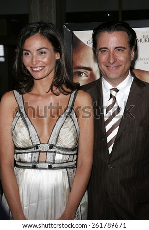 "04/17/2006 - Hollywood - Ines Sastre and Andy Garcia attend the Los Angeles Premiere of ""The Lost City"" held at the Arclight Cinemas in Hollywood, California, United States."