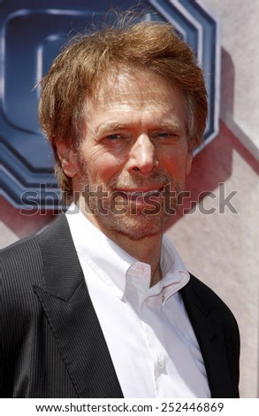"19/7/2009 - Hollywood - Jerry Bruckheimer at the Disney World Premiere of ""G-Force"" held at the El Capitan Theater in Hollywood, United States."