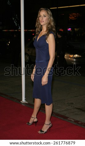 """03/23/2005 - Hollywood - Kim Raver at the """"Miss Congeniality 2: Armed and Fabulous"""" Premiere at the Chinese Theatre. - stock photo"""