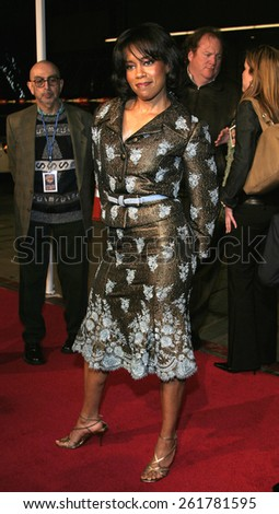 """03/23/2005 - Hollywood - Regina King at the """"Miss Congeniality 2: Armed and Fabulous"""" Premiere at the Chinese Theatre. - stock photo"""