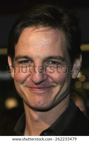 "04/04/2005 - Hollywood - William Mapother at the ""Sahara"" Premiere at the Grauman's Chinese Theater. - stock photo"
