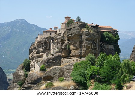 Holy Monastery  Varlaam,  Meteora, Greece,  Thessaly