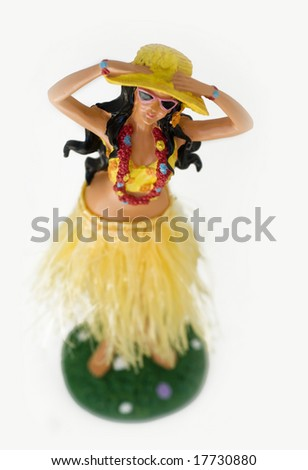 Hula Dancer - stock photo