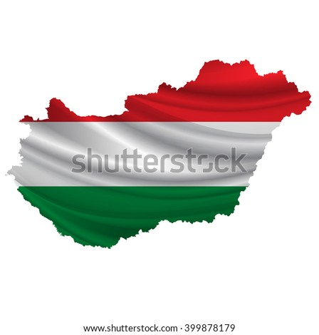 Hungary.Flag map icon