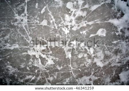 Ice Pattern - stock photo