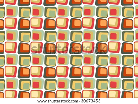 illustraition of  Retro styled Abstract  background made of  Candy Squares - stock photo