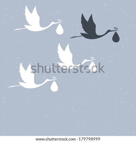 illustration of Congratulation for you - stock photo
