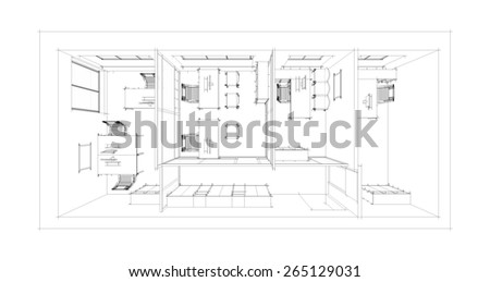 Illustration of interior
