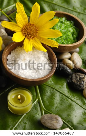 images of tropical spa. - stock photo
