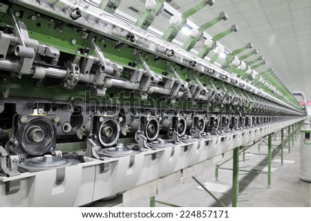 In a rotating machinery and equipment production company  - stock photo