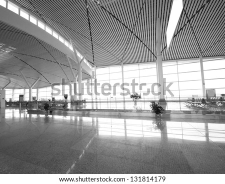 in Shanghai Pudong International Airport Airport