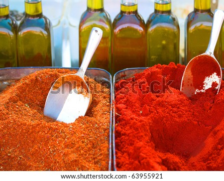 India Spice - stock photo