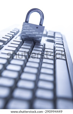 internet security - stock photo