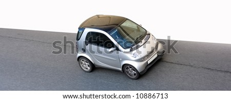 """isolated small car road speed - See similar images of this """"Cars"""" series in my portfolio - stock photo"""