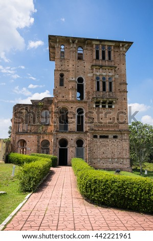 15 Jan 2016 - Perak, Malaysia : Kellie's Castle in Batu Gajah, Ipoh, is one of the most famous and important landmark in Perak state. Here was the prove of the history Ipoh.