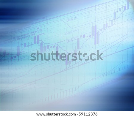 """japan candlestick"" chart  on meta trader4 - stock photo"