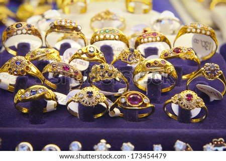 jewelry Store in Firenze - stock photo