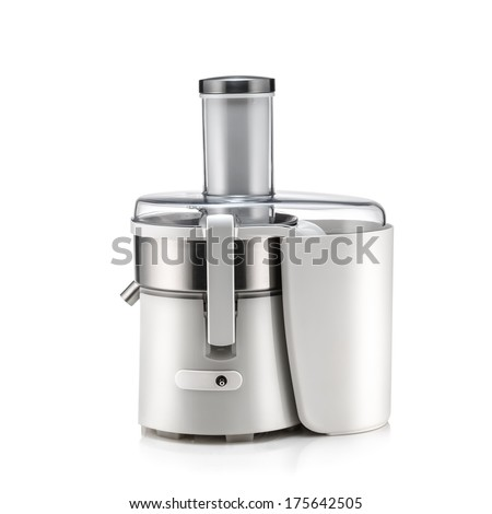 juicer on a white background - stock photo