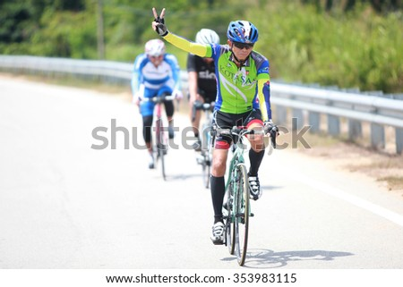 7 July 2015 : KUANTAN160 is an open road cycling event covering 160km around the city of Kuantan. The inaugural event was held in March 2012 organized by a group of cycling enthusiasts from Kuantan.