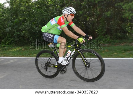 7 July 2015 : KUANTAN160 is an open road cycling event covering 160km around the city of Kuantan in the East Coast of Malaysia.
